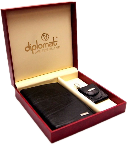 цена  Кошельки бумажники и портмоне Diplomat SET-013  онлайн в 2017 году