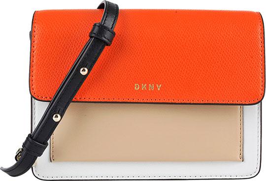 Кожаные сумки DKNY R171360203918 сумка dkny сумка