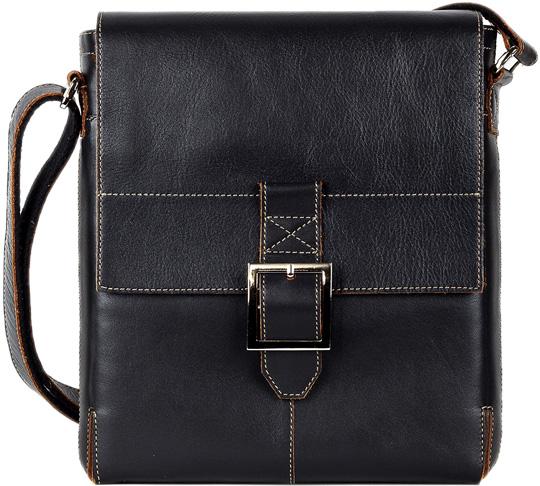 Кожаные сумки FABULA S.11.TXF.CHERNYJ