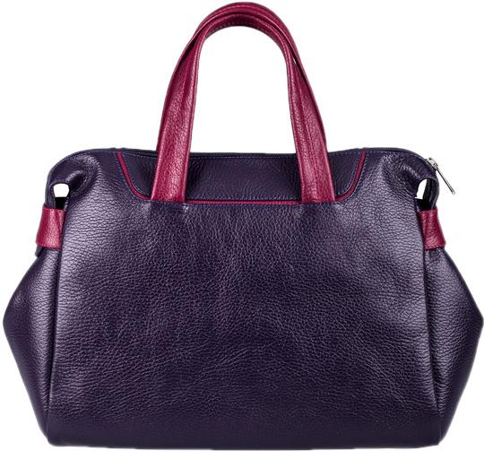 Кожаные сумки FABULA S.127.SN.BAKLAZHANOVYJ сумки fabula сумка