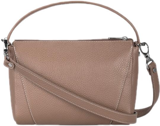 Кожаные сумки FABULA S.165.PMF.TEMNO-BEZHEVYJ сумки fabula сумка