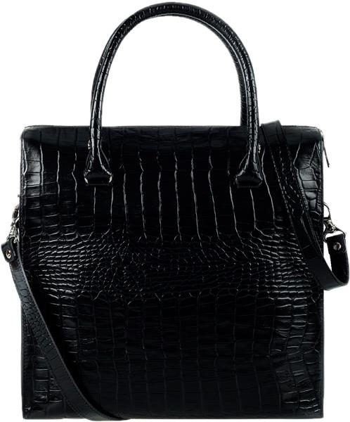 цена Кожаные сумки FABULA S.185.KR.CHERNYJ онлайн в 2017 году