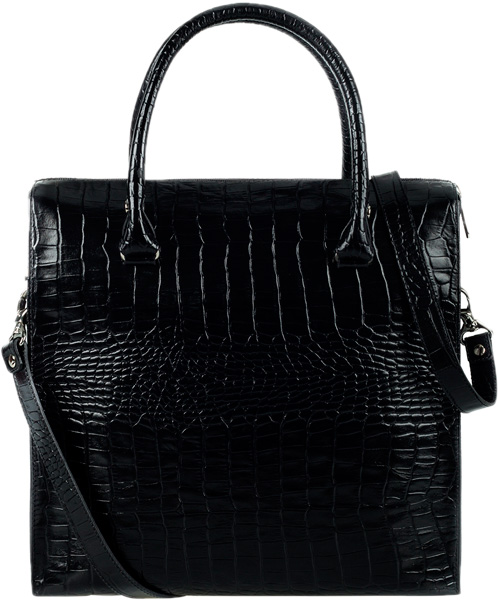 Кожаные сумки FABULA S.185.KR.CHERNYJ клатчи fabula s 124 fp zelenyj