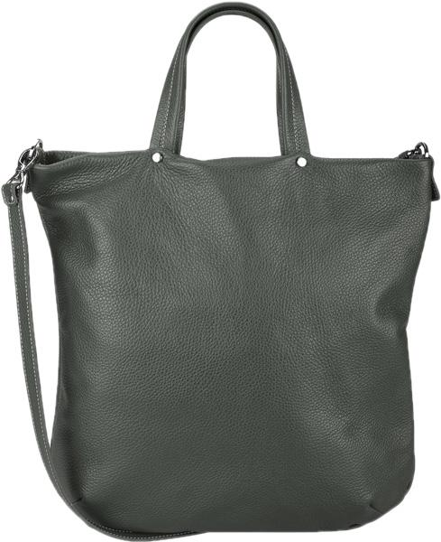 Кожаные сумки FABULA S.199.PMF.TEMNO-ZELENYJ