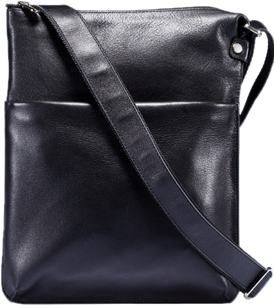 Кожаные сумки FABULA S.41.MN.CHERNYJ сумки fabula сумка