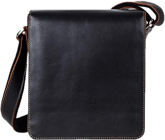Кожаные сумки FABULA S.43.TXF.CHERNYJ
