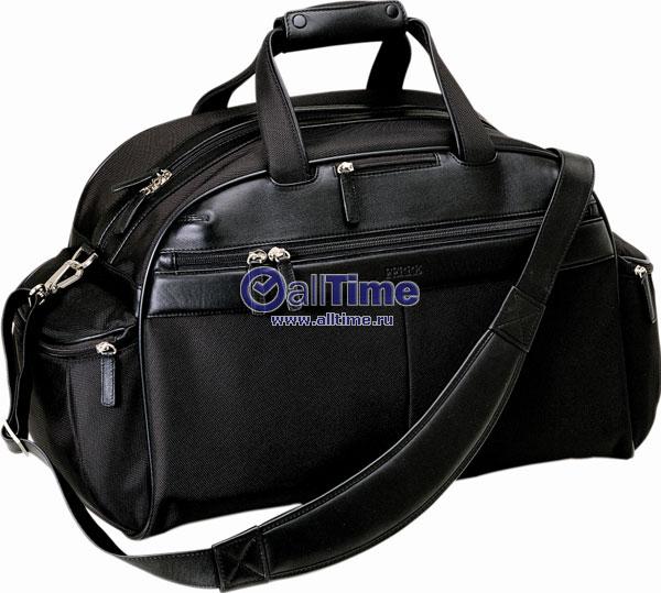 Дорожная сумка.  Два боковых кармана на молнии, удобные ручки и плечевой...