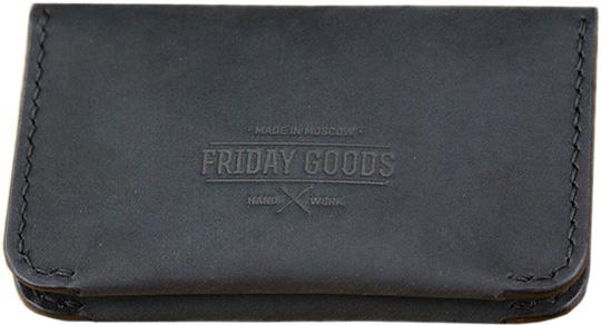 Визитницы и кредитницы Friday Goods 12482-black