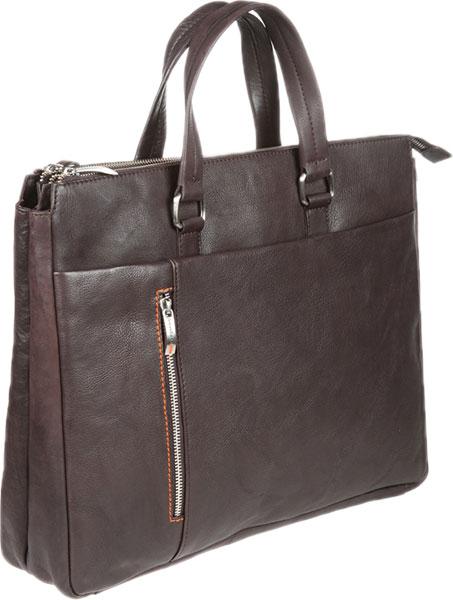 Фото «Мужская кожаная сумка Gianni Conti 1041261-dark-brown»
