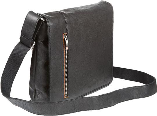 Кожаные сумки Gianni Conti 1042532-black цена и фото