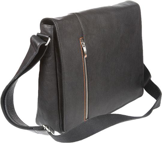 Кожаные сумки Gianni Conti 1042533-black
