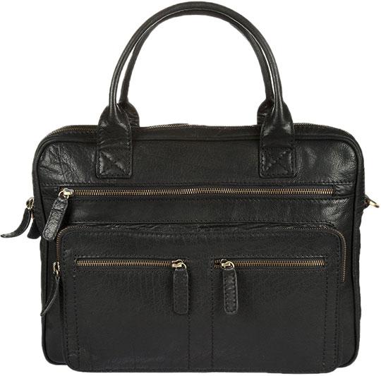 Кожаные сумки Gianni Conti 1071376-black