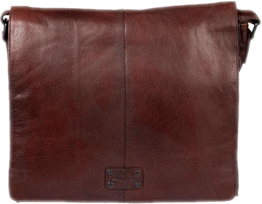 цена на Кожаные сумки Gianni Conti 1132310-dark-brown