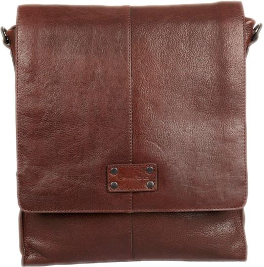 Кожаные сумки Gianni Conti 1132318-dark-brown