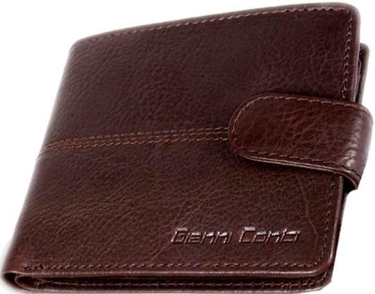 Кошельки бумажники и портмоне Gianni Conti 1137075-dark-brown