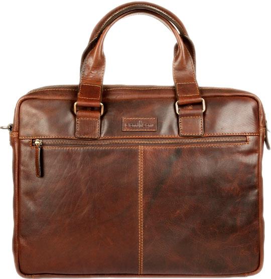 Кожаные сумки Gianni Conti 1221265-dark-brown
