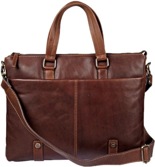 Кожаные сумки Gianni Conti 1221273-dark-brown