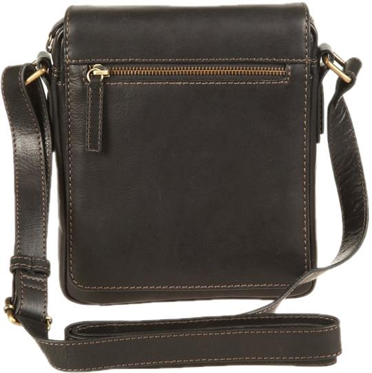 Кожаные сумки Gianni Conti 1222343-black