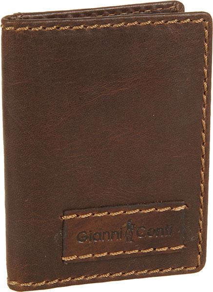 Визитницы и кредитницы Gianni Conti 1227189-dark-brown