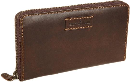 Фото Кошельки бумажники и портмоне Gianni Conti 1228106-dark-brown
