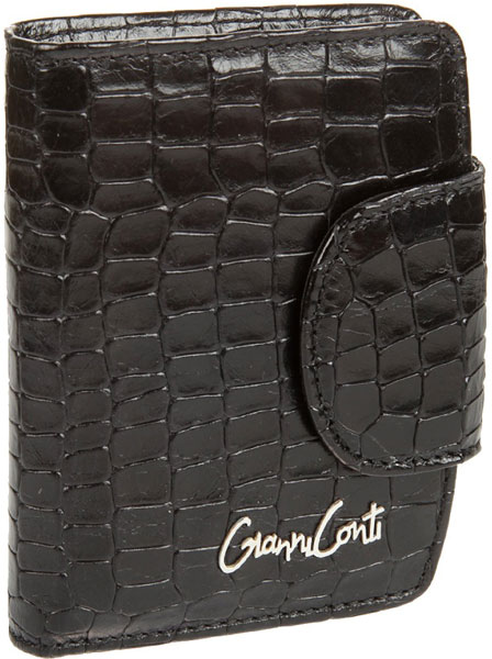 Кошельки бумажники и портмоне Gianni Conti 1388035-black кошельки бумажники и портмоне gianni conti 4208106 jeans