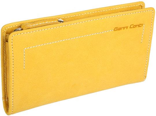 Кошельки бумажники и портмоне Gianni Conti 1428165-yellow grey red beige blue embroidery logo car seat cover front