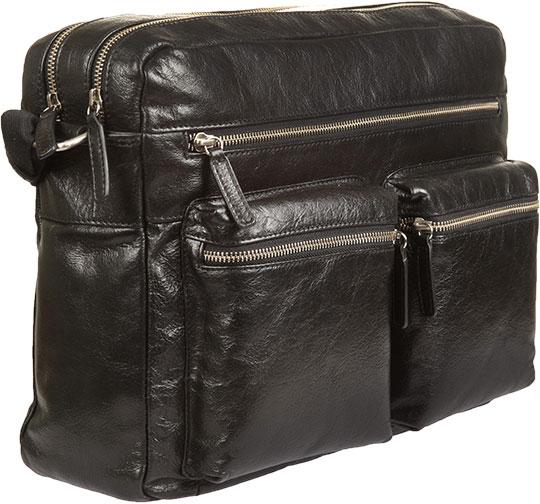 Кожаные сумки Gianni Conti 1482307-black