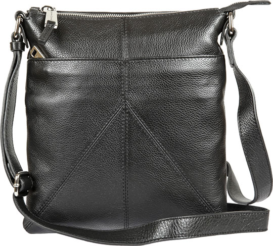 Кожаные сумки Gianni Conti 1542711-black кожаные сумки gianni conti 2514325 coral