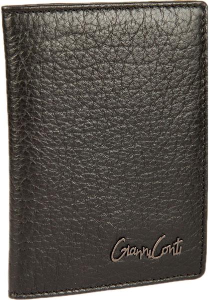 Обложки для документов Gianni Conti 1547455-black обложки maestro de tiempo обложка для паспорта heart