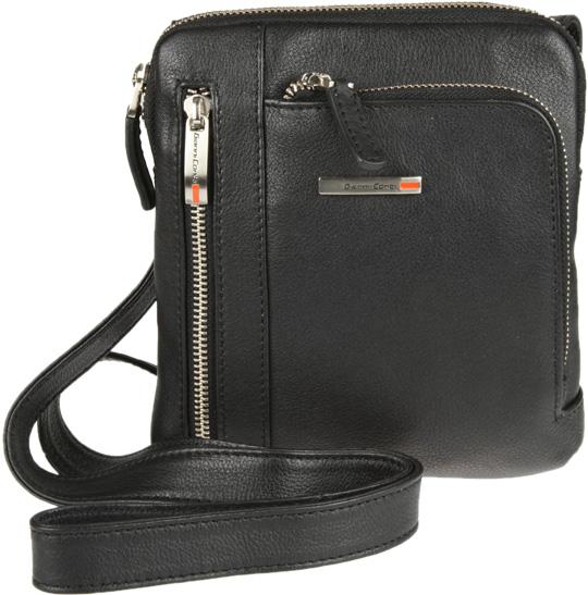 Кожаные сумки Gianni Conti 1602182-black