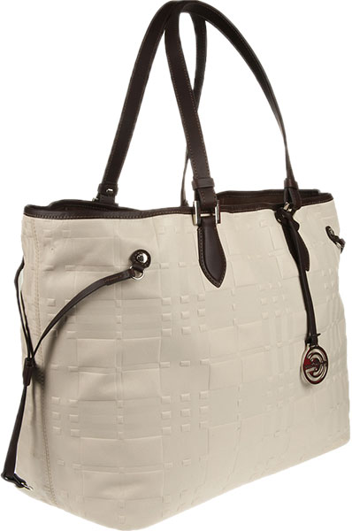 Кожаные сумки Gianni Conti 1636896-ivory-dark-brown