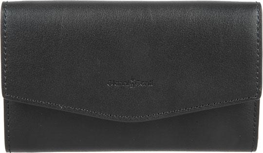 Кошельки бумажники и портмоне Gianni Conti 1788725-black цена и фото