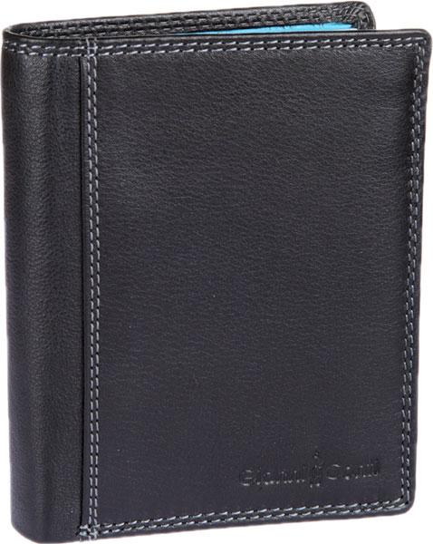 Кошельки бумажники и портмоне Gianni Conti 1808037-black-multi обложка для автодокументов gianni conti цвет черный