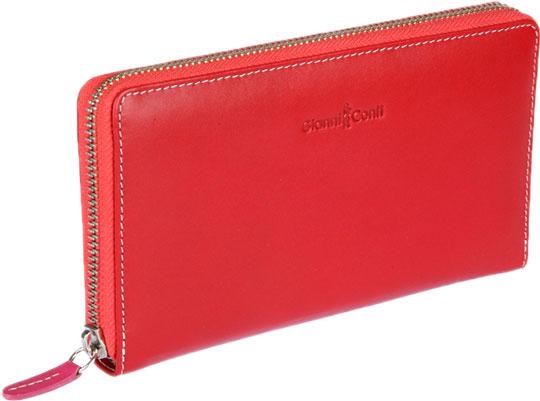 Купить со скидкой Кошельки бумажники и портмоне Gianni Conti 1808106-el-red-multi