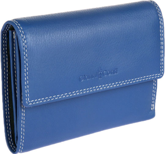 Кошельки бумажники и портмоне Gianni Conti 1808253-el-blue-multi кошельки бумажники и портмоне gianni conti 1938253 blue indigo