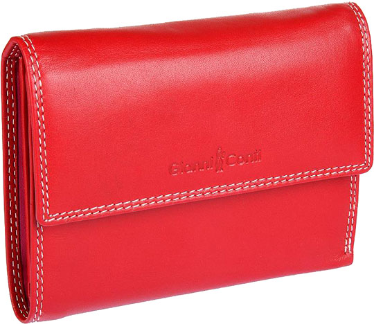 Кошельки бумажники и портмоне Gianni Conti 1808253-el-red-multi кошельки бумажники и портмоне petek s15012 46d 27