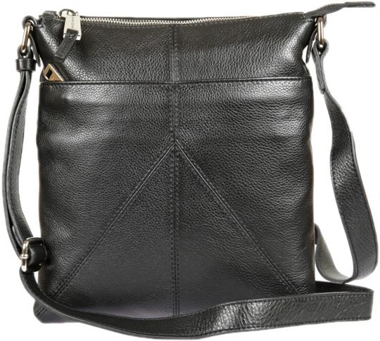 Кожаные сумки Gianni Conti 1812711-black обложка для автодокументов gianni conti цвет черный