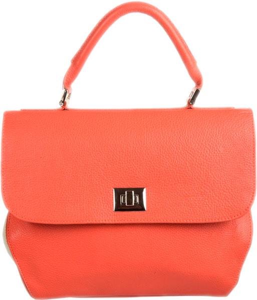 Кожаные сумки Gianni Conti 1813557-coral-beige