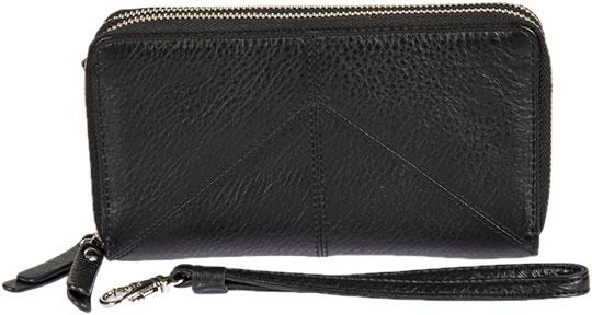 Кошельки бумажники и портмоне Gianni Conti 1818406-black кошельки бумажники и портмоне gianni conti 908034 black