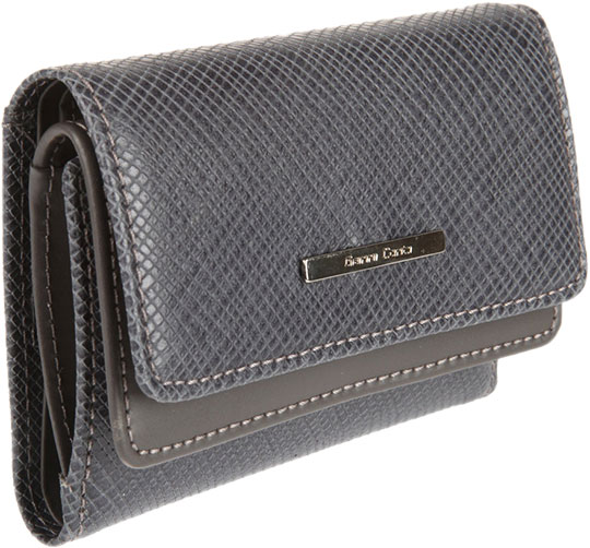Кошельки бумажники и портмоне Gianni Conti 1878258-grey-grey кошельки mano портмоне для авиабилетов