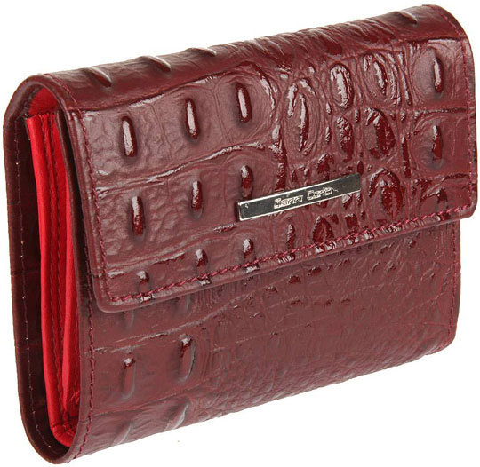 портмоне женское gianni conti цвет рыжий Кошельки бумажники и портмоне Gianni Conti 1938253-ruby-red