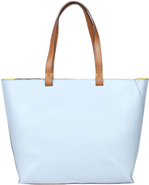 Фото «Женская кожаная сумка Gianni Conti 2454904-sky»