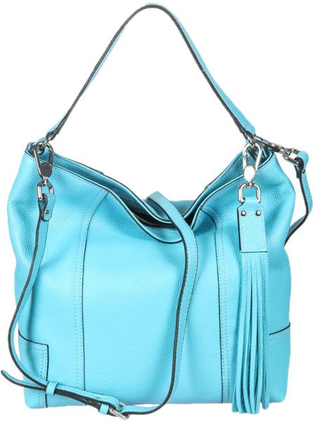 Кожаные сумки Gianni Conti 2514324-turquoise