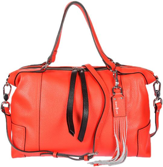 Кожаные сумки Gianni Conti 2514325-coral