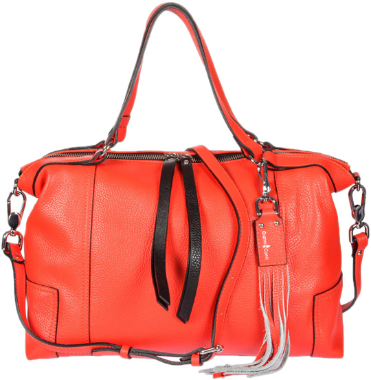Кожаные сумки Gianni Conti 2514325-coral кожаные сумки gianni conti 1636896 ivory dark brown