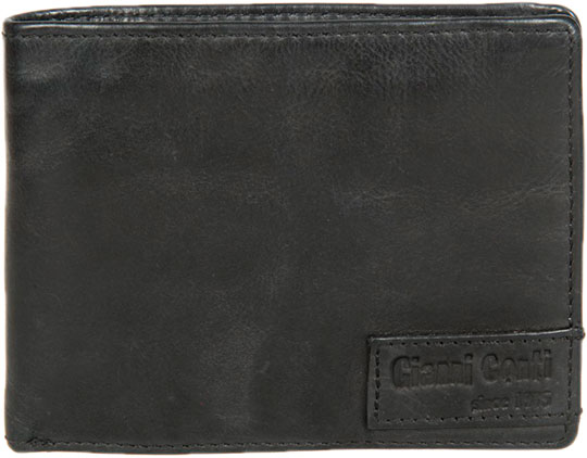 Кошельки бумажники и портмоне Gianni Conti 4207111-black