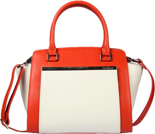 Кожаные сумки Gianni Conti 494407-cream-brick