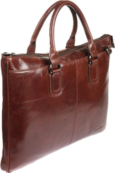 Кожаные сумки Gianni Conti 701179-brown кожаные сумки gianni conti 1636896 ivory dark brown