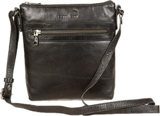 Кожаные сумки Gianni Conti 704371-black