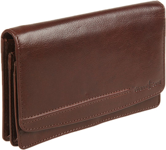 Кошельки бумажники и портмоне Gianni Conti 708203-brown цена 2017